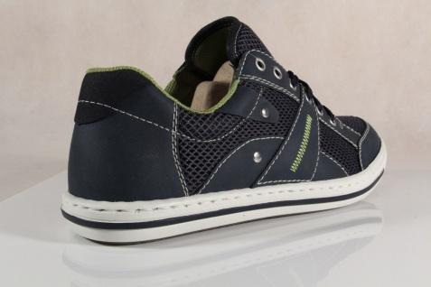 Rieker Herren Schnürschuhe, Sneakers Halbschuhe blau 19020 NEU - Vorschau 4