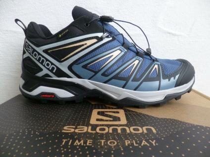 Salomon Sportschuhe Sneaker Halbschuhe Sneakers X ULTRA 3 blau wasserdicht Neu!!
