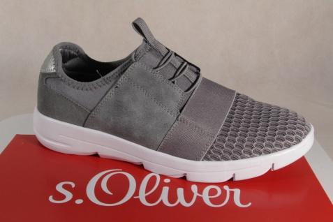 s.Oliver Ballerina Slipper Sneakers Pumps grau NEU!!