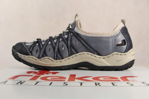 Rieker L0567 Slipper Sneakers NEU Halbschuhe Sportschuhe Ballerina blau NEU Sneakers 4f3eb7