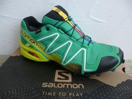 Salomon Sportschuhe Halbschuhe Sneakers Speedcross wasserdicht grün Neu!!!