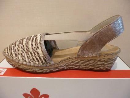 Rieker Damen Sling Sling Damen Sandale Sandalette Keilabsatz NEU!! 292e32