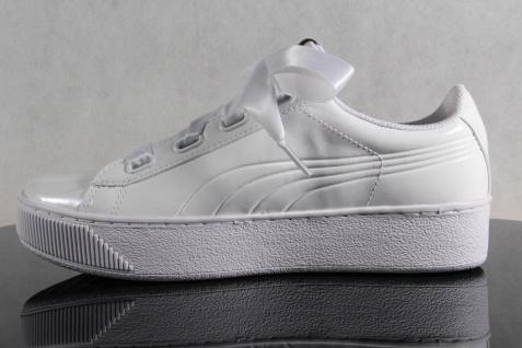 PUMA Schnürschuhe Sneaker Sportschuhe Halbschuhe weiß weiß weiß NEU 5cc49c