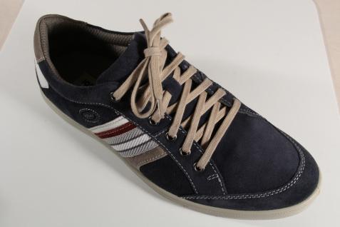 Jomos aircomfort Herren Schnürschuh Leder 314304 Sneakers Halbschuh blau Leder Schnürschuh NEU 7f2a8e