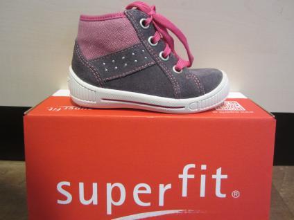 Superfit !!! LL-Stiefel grau/pink Lederfußbett Neu !!! Superfit 77e817