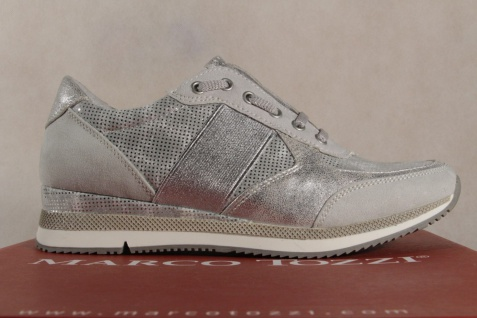 Marco Tozzi Slipper silber Sneakers Halbschuhe silber Slipper 23711 NEU! 555bd2