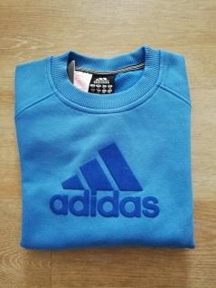 Adidas Jungen Sweatshirt Sweater Pullover blau NEU