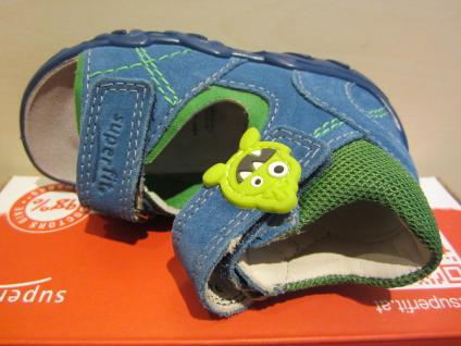 Superfit LL-Sandale blau/grün KVLederfußbett KVLederfußbett blau/grün Neu !!! b48ab6