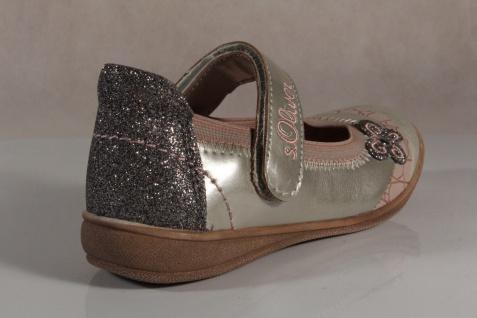 S.Oliver Ballerina beige/ beige/ Ballerina rosa, Lederinnensohle NEU!! 7593ab