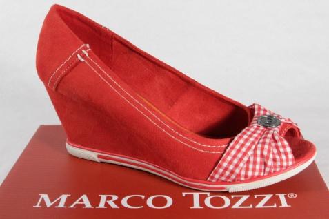 Marco Tozzi rot/weiss Pumps, Slipper, Trotteur Synthetik rot/weiss Tozzi NEU! acaa60