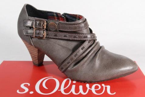 s.Oliver Slipper Pumps Ballerina Trotteur pfeffer NEU!!