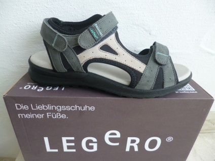 Legero Damen Sandalen Sandaletten Innenfußbett, grau KV, bequemes Innenfußbett, Sandaletten NEU!! 0f2507