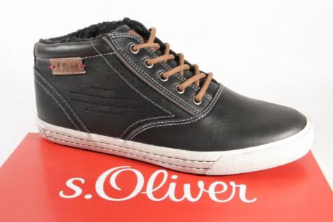 s.Oliver schwarz 46240 Schnürstiefel Stiefel Boots schwarz s.Oliver NEU fefa5a