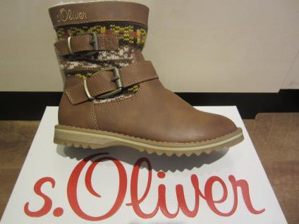 S.Oliver Stiefel, warm braun, warm Stiefel, gefüttert, Reißverschluss NEU 22b3b9
