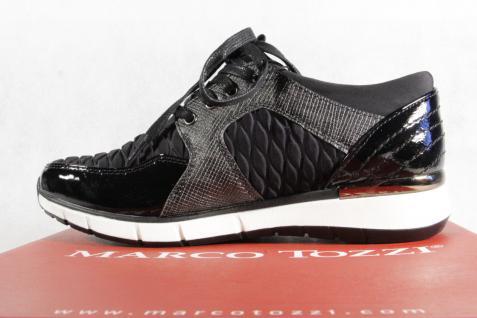 Marco Sneakers Tozzi Damen Schnürschuhe 23726 Sneakers Marco Halbschuhe schwarz NEU! 5e1f6c