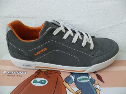 Lowa Schnürschuhe Sneakers Sneaker Sportschuhe Halbschuhe grau NEU