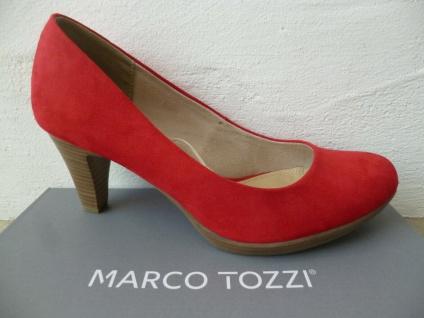 Marco Tozzi Pumps Ballerina Slipper rot NEU!