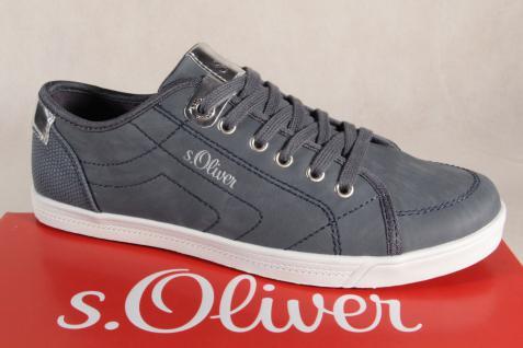 S.Oliver Damen Schnürschuhe Sneakers Halbschuhe blau 23631 Gummisohle NEU!