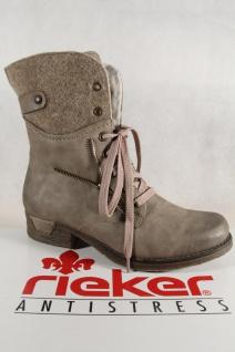 Rieker Damen Stiefel Stiefeletten Schnürstiefel Schnürstiefel Schnürstiefel kiesel 79609 NEU! Beliebte Schuhe a66427