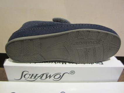 Schawos Klettverschluss, Damen Hausschuh mit Klettverschluss, Schawos blau 2062 dop.KV NEU!! c51e27