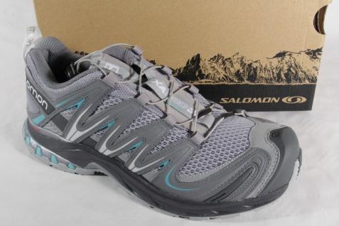 Salomon Sportschuhe Sneakers XA PRO 3D grau Contagrip Sohle OrthoLite Neu!!!