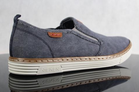 Rieker Halbschuhe Halbschuhe Rieker Slipper Sneaker blau NEU!! e89e1e