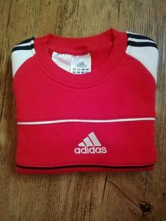 Adidas Jungen rot Sweatshirt Sweater Pullover Pulli Sport NEU - Vorschau 5