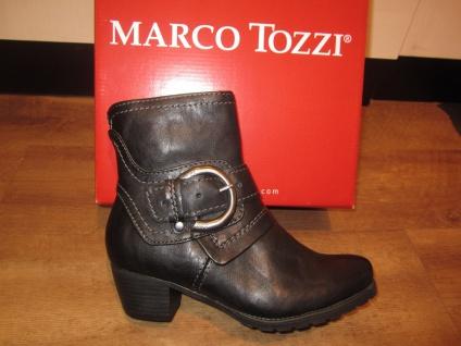 Marco Tozzi Stiefel, Stiefelette, RV schwarz, leicht gefüttert. RV Stiefelette, NEU!! b6d97c