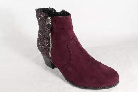 Jana Softline 25370 Damen Stiefelette, Stiefel, Boots bordo NEU