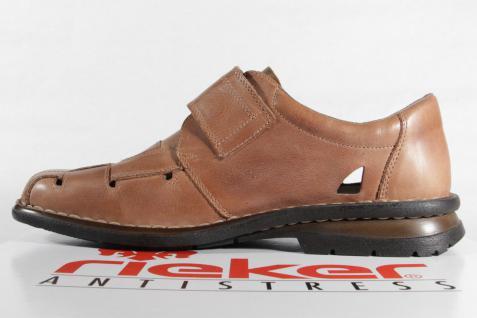 Rieker Slipper Lederinnensohle Sneakers Halbschuhe braun weiche Lederinnensohle Slipper NEU 371f48