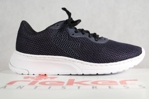 Rieker Damen Schnürschuhe Sneakers NEU! Sportschuhe Halbschuhe blau N5022 NEU! Sneakers 4df50a