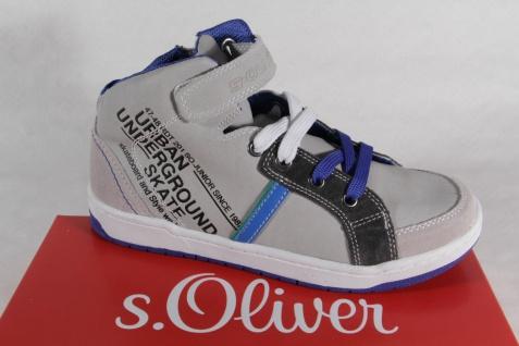 s.Oliver Stiefel Boots Stiefelette Stiefeletten Sneakers grau Neu!