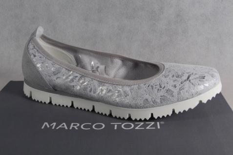 Marco Pumps Tozzi Ballerinas Slipper Halbschuhe Pumps Marco grau NEU!! 71088c