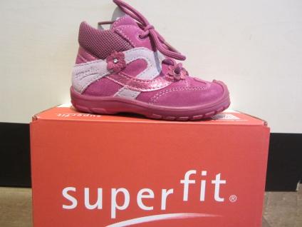 Superfit Lauflern-Stiefel pink Lederfußbett Neu 324 Neu Lederfußbett !!! a613fb