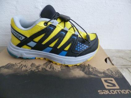 Salomon XR MISSION Kinder Sportschuhe Laufschuhe Sneakers gelb Neu!