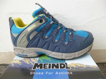Meindl Slipper Sneakers Sneaker Wanderschuhe Sportschuhe Halbschuhe blau NEU