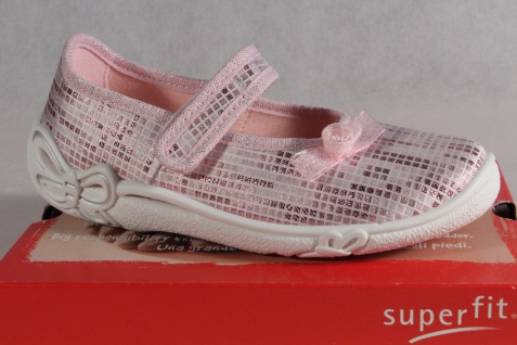 Superfit Ballerina, Mädchen Ballerina, Superfit Halbschuh, Sneaker rosa NEU! 04905f