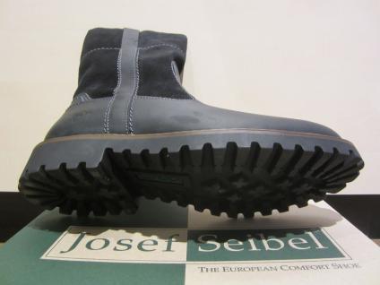 Seibel Herren Stiefel Winterstiefel Boots Stiefelette schwarz Leder 21927 NEU - Vorschau 3
