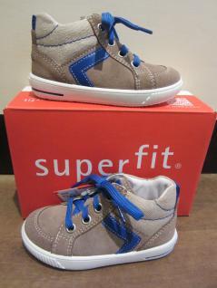 Superfit braun/blau Lauflern-Stiefel braun/blau Superfit Lederfußbett Leder Neu !!! 73df48