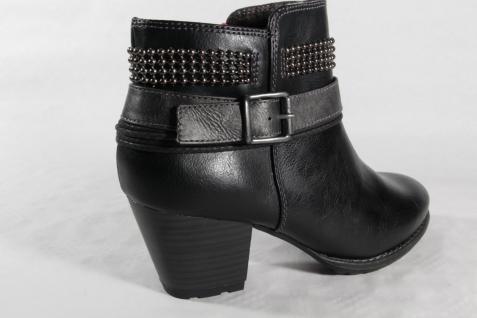 S.Oliver Damen Stiefelette mit Stiefel Winterstiefel schwarz mit Stiefelette Reißverschluß NEU bdf4a8