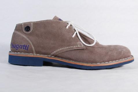 Bugatti NEU! Herren Schnürschuh, Halbschuh Sneaker grau, NEU! Bugatti 47ea62