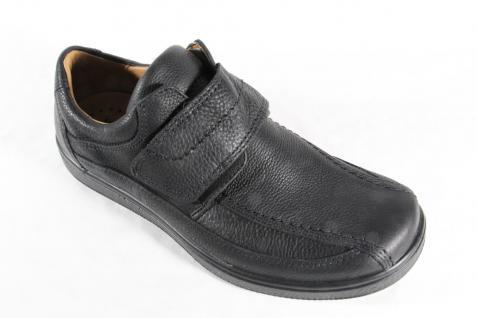 Jomos Sneakers Herren Slipper Halbschuhe Sneakers Jomos Sportschuhe schwarz Leder NEU f6b73f