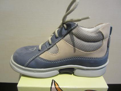 Trettal LL-Stiefel blau/beige Lederfußbett !!! Neu !!! Lederfußbett fdb561