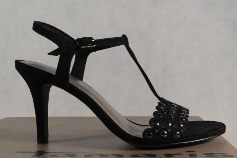 Damen NEU! Tamaris Sandale Sandalette schwarz NEU! Damen 5c21f9
