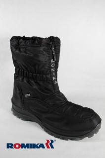 Romika Damen Stiefel Boots 87018 Winterstiefel schwarz, wasserdicht NEU!!