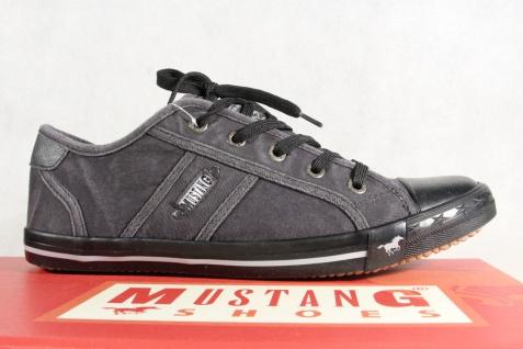 Mustang Schnürschuhe Sneakers NEU Sportschuhe Halbschuhe 1099 schwarz NEU Sneakers ad7079