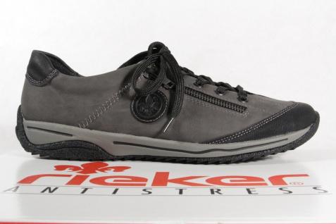 Rieker Damen Schnürschuhe, grau Halbschuhe, Sneakers, grau Schnürschuhe, 5224L, NEU! 3c0872