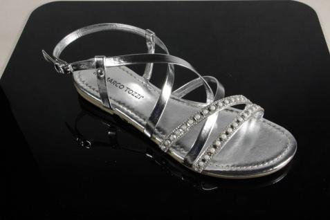 Marco Tozzi 28139 Damen Sandalen Sandaletten silber 28139 Tozzi NEU!! 059dbb