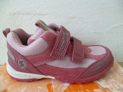 Superfit Mädchen Sneakers Slipper Sportschuhe Freizeitschuhe fuchsia Neu !!!