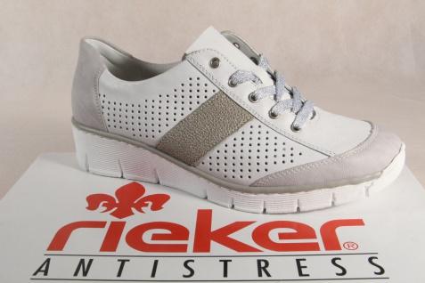Rieker 53717 Damen Schnürschuhe, Halbschuhe, Sneaker NEU!